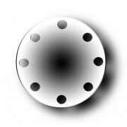 Blindflansch EN1092-1 Typ 5 PN6 DIN2527 DN25 S235JRG2/RST37-2