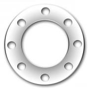 Glatte Flansche DIN 2576 bzw EN1092-1 Typ 01 PN10