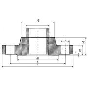 Glatte Flansche EN1092-1 Typ 01 PN16